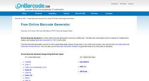 Generator Access onbarcode com Free Online Generator Barcode vppqdxr