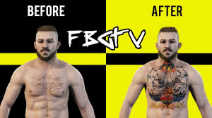 Ufc 3 Tattoo Tutorial Chest Graphic Style Youtube
