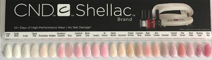 Cnd Shellac Swatches And Nail Tips Including Boho Wild
