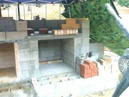 how to build an outdoor brick fireplace wood fired pizza oven building