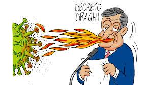 La vignetta di Gef: in arrivo il decreto anti Covid del governo Draghi - La  Nuova Sardegna