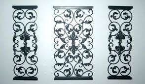 metal scroll wall decor black metal scroll wall decor delectable fascinating large round wall decor outstanding