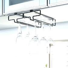 wine glass hangers wine glass racks marvellous under cabinet wine glass rack designs high regarding wine