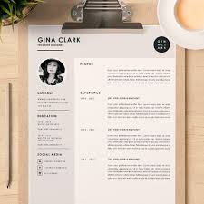 interior design resume template word resume template cover letter template for word diy printable 3
