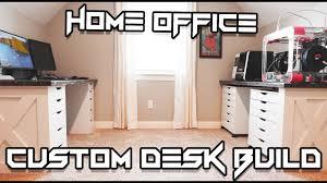 custom built home office. Custom Built-in Desk // Home Office Work Space Built H