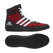adidas wrestling shoes. mat wizard \u2013 red/black/white adidas wrestling shoes