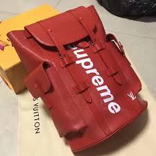 louis vuitton supreme backpack