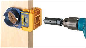 irwin door lockset jig woodworking