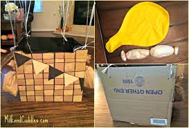 carboard box costume