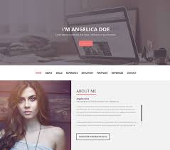 20 Best Personal Resume Website Templates 2017 Web Idesignow