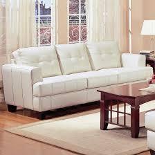 samuel beige leather sofa