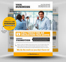 business flyer templates mockup layouts adobe business flyer templates mockup