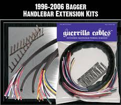 bagger wiring harnesses by guerrilla cables purple 96 06