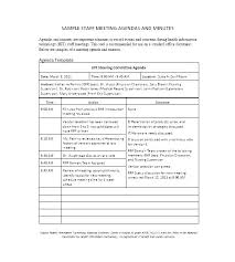 Meeting Notes Template With Action Items Meeting Minutes Sample