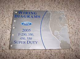 ford excursion wiring diagram service manual bull cad  2005 ford excursion f550 electrical wiring diagram manual extended regular crew