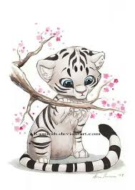 white tiger cubs drawing. Beautiful Drawing White Tiger Cub Intended Tiger Cubs Drawing H