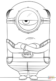 Small Picture Minion Mel from Despicable Me 3 coloring page Free Printable