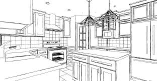 simple kitchen drawing. Exellent Kitchen Simple Kitchen Drawing Photo  7 And L