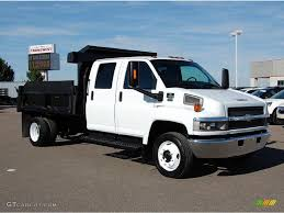 2007 Summit White Chevrolet C Series Kodiak C4500 Crew Cab Dump ...