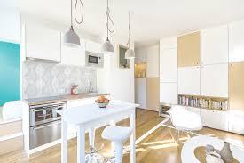 Square Foot Parisian Studio Apartment With Practical Layout - Studio apartment furniture layout