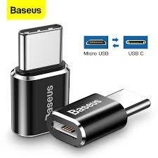 <b>Baseus</b> OTG Adapter <b>USB C Male</b> to Micro USB Female <b>Type C</b> ...