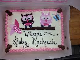 Owl Baby Shower Cake  Blondieu0027s Theme Cakes  Pinterest  Shower Owl Baby Shower Cakes For A Girl