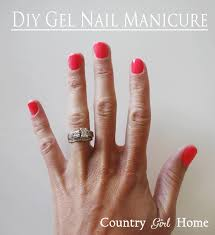 gel nail manicure tips