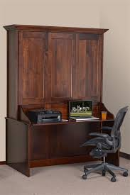 murphy bed office desk. Amish Vertical Wall Murphy Bed With Desk | Beds Bedroom Furniture 44900 Office I