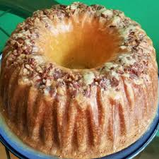 This streusel is made with brown sugar, pecans and a hint of cinnamon. Pecan Sour Cream Coffee Cake Allrecipes