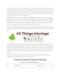 Moringa 2