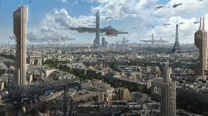 futuristic city wallpaper 9