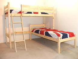 L SHAPED 3ft bunkbed - Wooden LShaped Bunk Bed for kids - FAST DELIVERY:  Amazon.co.uk: Kitchen & Home