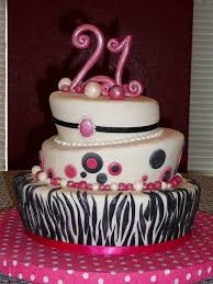 21st Birthday Cake Ideas For Girls 209 Classic Style 21st