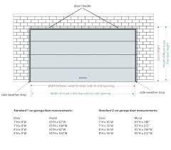 size of garage door average garage height photo 5 of 8 attractive garage door width 5 size of garage door