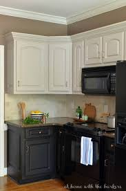how to paint 1970 039 s kitchen cabinets elegant remodelaholic