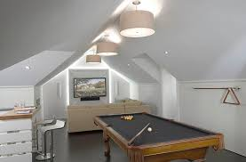 gameroom lighting. View In Gallery Attic Game Room With A Neutral Color Scheme Gameroom Lighting N