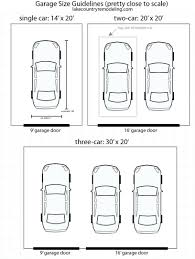 Two Car Garage Plans  2 Door  1 Door At COOLhouseplanscomDouble Car Garage Size