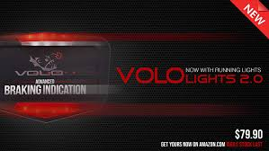 Volo Lights Vololights Motorcycle Brake Lights Indicates Braking From Engine Braking And Downshifting Easy 5 Minute Installation Waterproof And Rugged Design