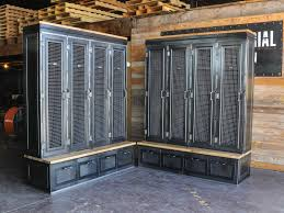 Custom Metal Cabinets Country Club Locker Industrial Employee Lockers And The Mud