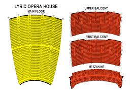 Lyric Opera Seating Chart Lyric Opera Chicago Parking Brooklyn Gluten Free Pizza