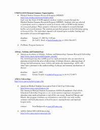 Medical Student Cv Resume Format For Applying Internship Beautiful Resume Format For 6