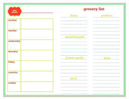 Meal Plan Calendar Monthly Template Blank Planning Printable Ooojo Co