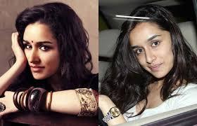 hindi actress shraddha kapoor without makeup