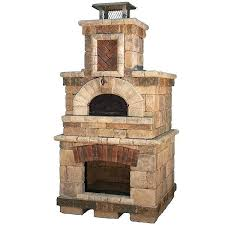 outdoor fireplace pizza oven combo plans and