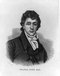 Image result for Francis Scott Key pens a poem