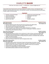 Retail Resume Skills Delectable Best Rep Retail Sales Resume Example LiveCareer