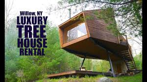 Tree House Architecture Luxury 300k Spaceship Tree House For Rent Youtube