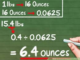 Kilograms To Pounds And Ounces Chart How To Convert Kilograms To Pounds 8 Steps With Pictures