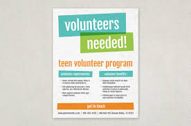 Volunteer Flyers Samples Volunteers Needed Flyer Template Rosejuice Info