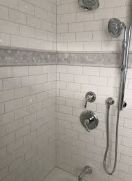 Daltile Bathroom Tile Did It Tub Surround Of Daltile Arctic White Subway Tile With